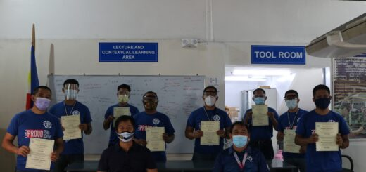 Congratulations! RAC Servicing Nc II Trainees